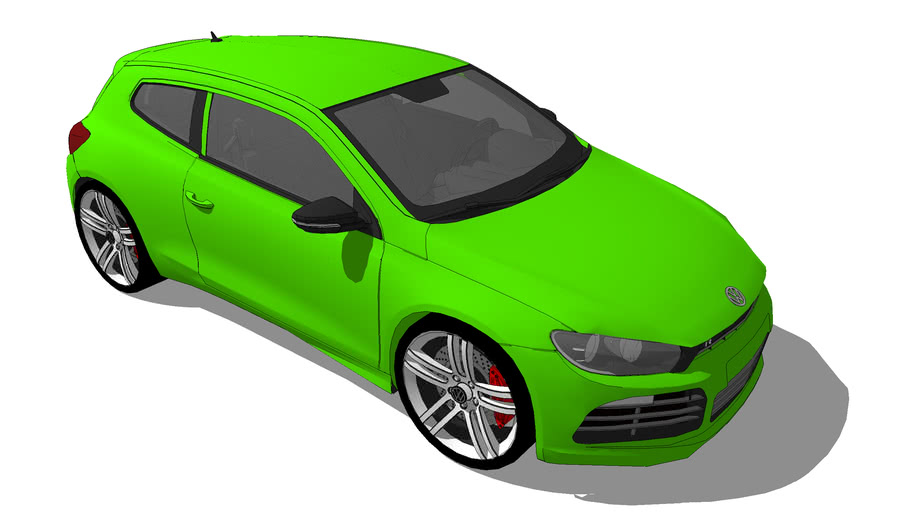 Vehicles - VW Scirocco III R