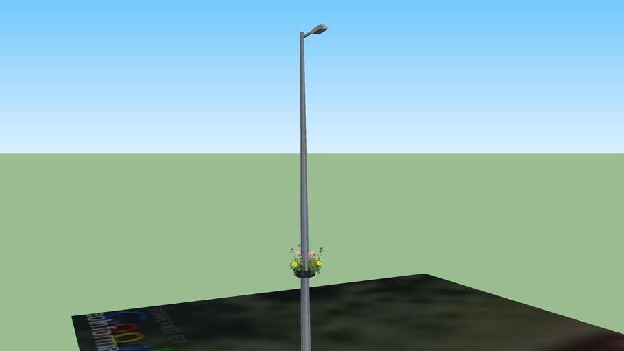 Godmanchester In Bloom, Street Lamp 7