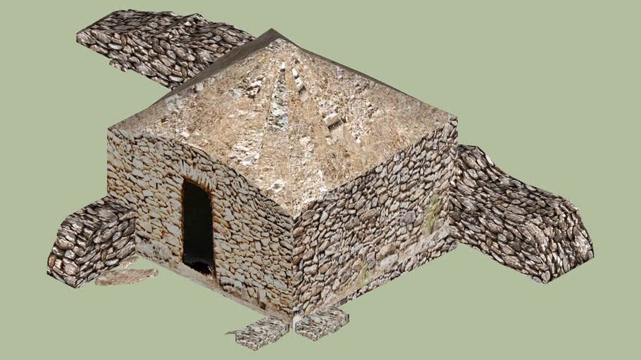 Barraca de piedra seca