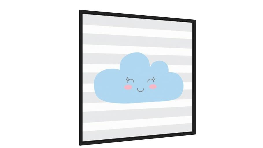 Quadro nuvem azul - Galeria9, por Sabrina Matias