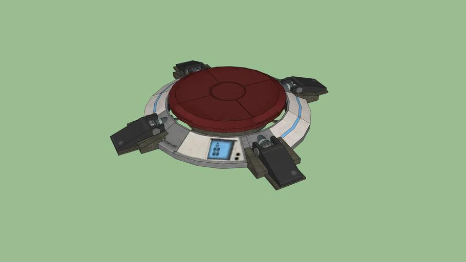 1500 Megawatt Aperture Science Heavy Duty Super Button (Portal 2)