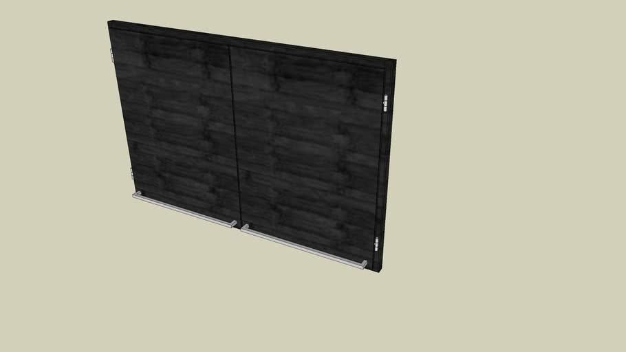 Unoform-Wallunits front 900-600 (2 doors)