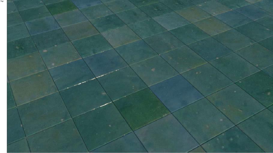handmade tiles green moroccan