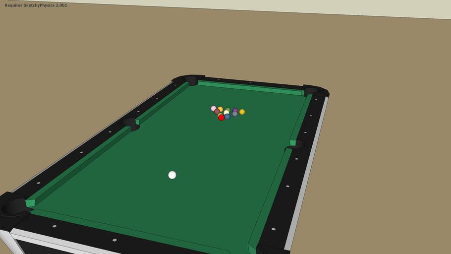 Sketchy physics Pool