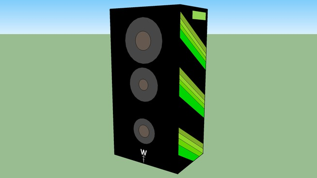 w.t.f.inc speakers to size