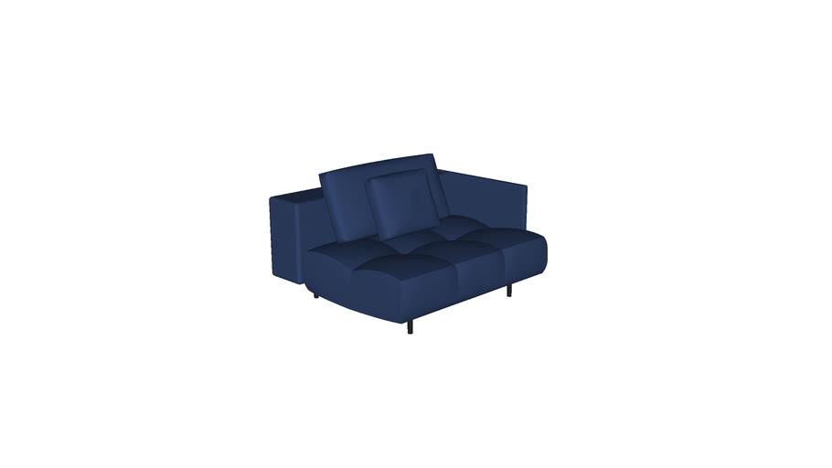 Sofa Pausa 1,25m 1BR