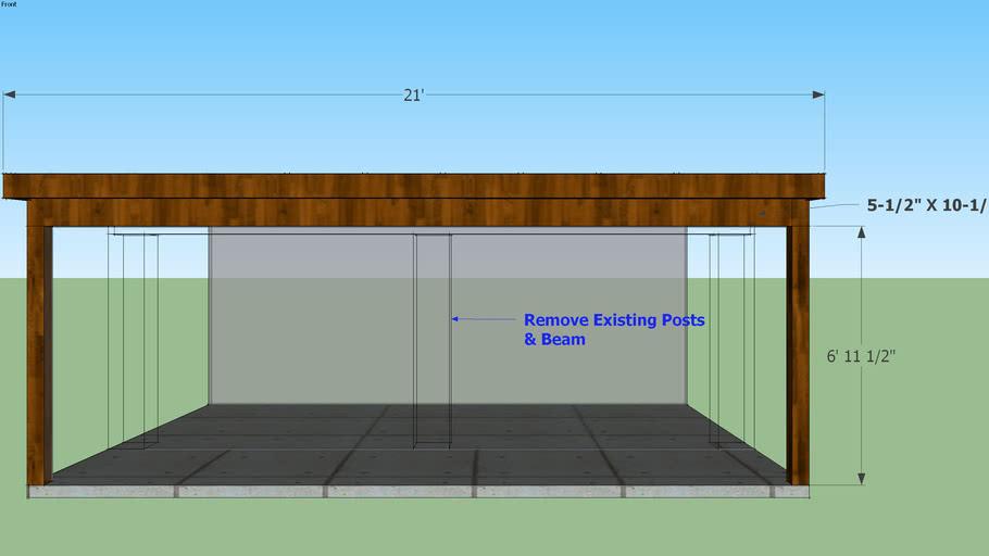 5' Patio Extension