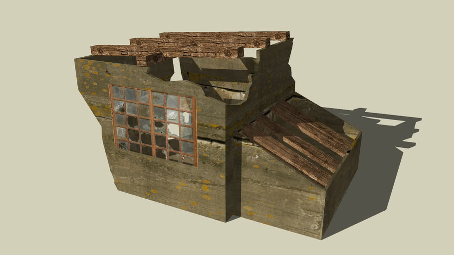 War Bunker Ruins