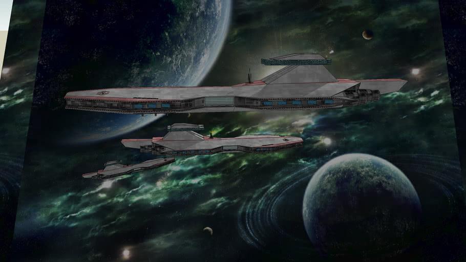 FSR Fleet over Cadino and Farbanti