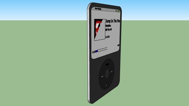 Scaled, Exact Model of iPod Nano