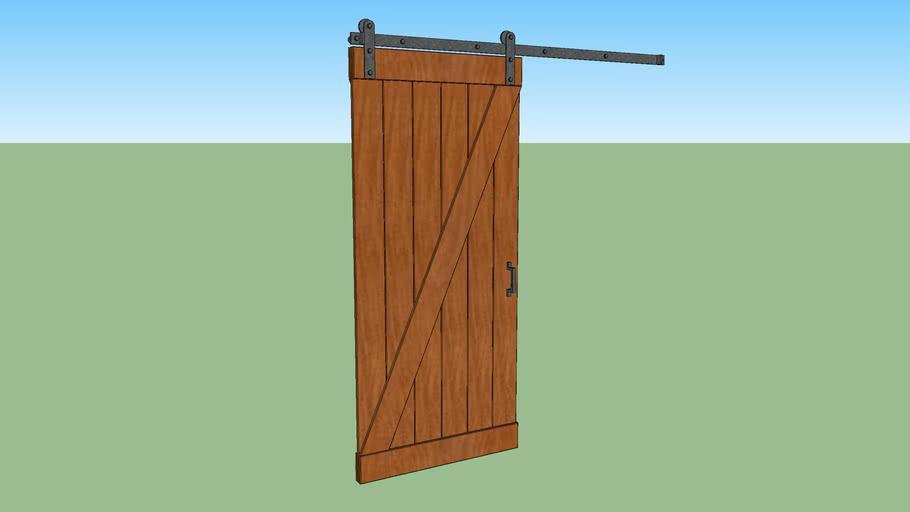 Barn Door Sliding 36 Inch X 80 3068