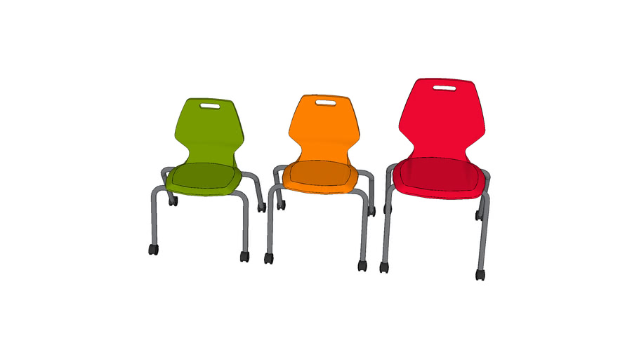 Paragon - A&D Ready Chairs w/ Casters
