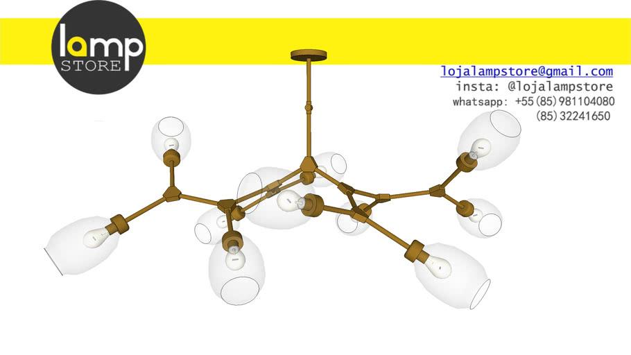 Lámpara molecular