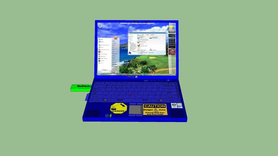 My Gateway Laptop 3d Warehouse