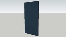 Navy Curtain
