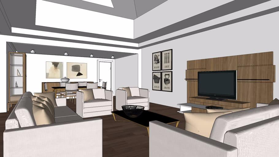 Salon Living Room 3d Warehouse, The Living Room Salon
