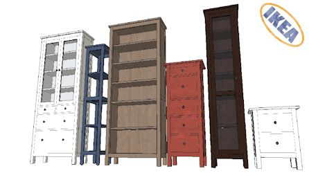 Ikea 3d warehouse for Modelli sketchup ikea