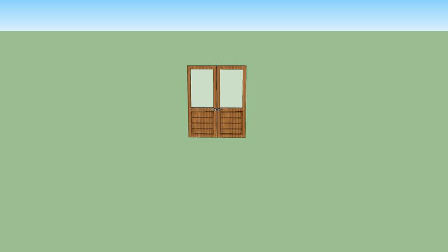 Basic Double Doors