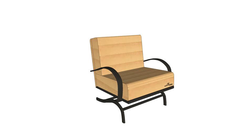 Chat Chair - Tan