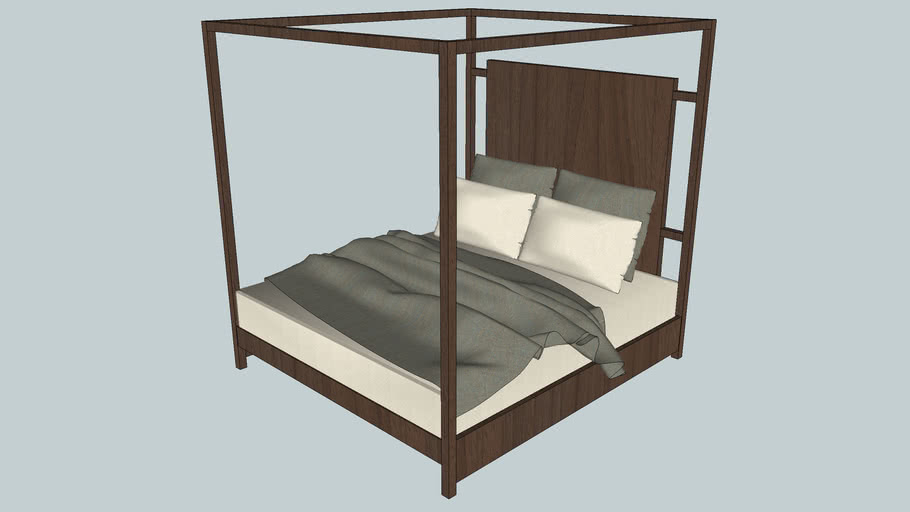 Klein King Poster Bed - Artesia Collection