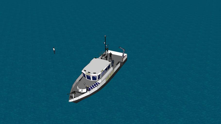 Sheriffs Department Patrol Boat