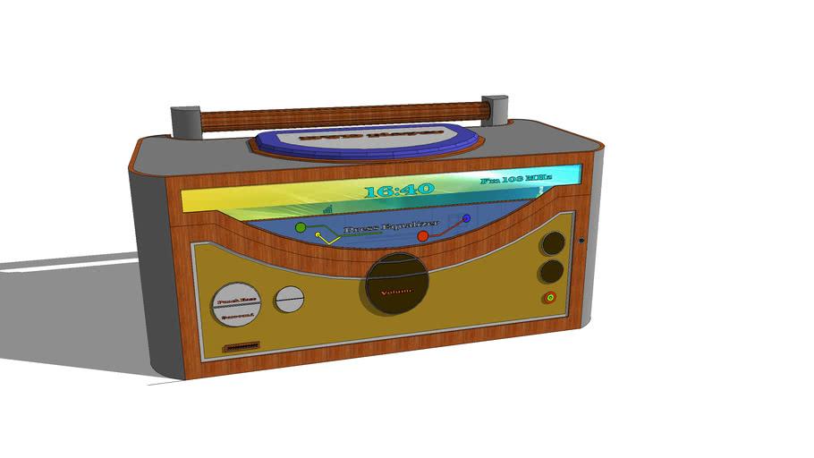 Micro System, rádio, aparelho de som