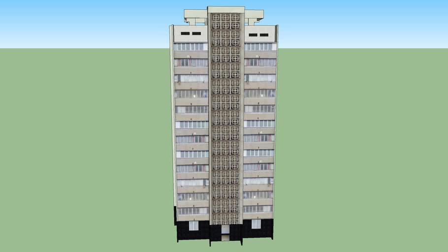 Yalta, Jadanovskogo st., 1, 12-storey house