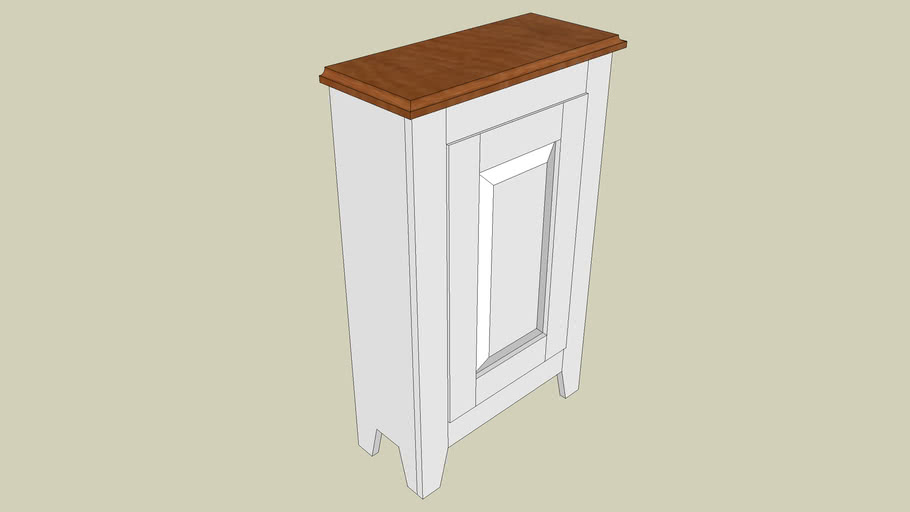 Bathroom Cabinet Project from AFFYX.COM
