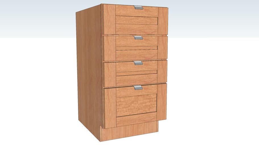 Base Four Drawer
