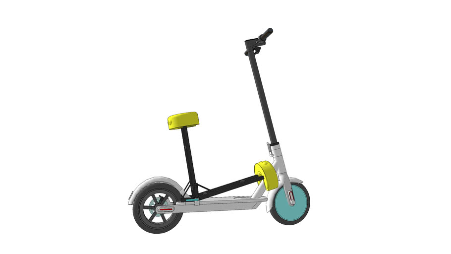 112 SCOOTER XIAOMI WITH SEAT