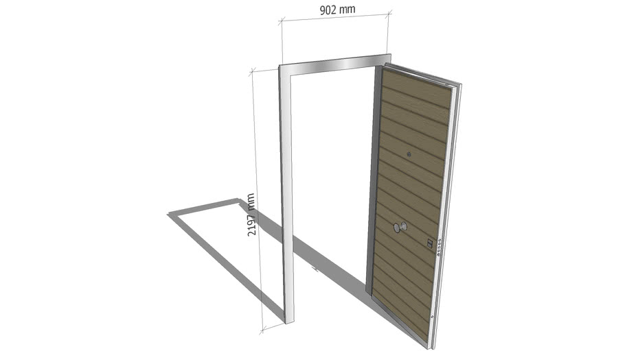 Porta blindata 900 x 2200 mm