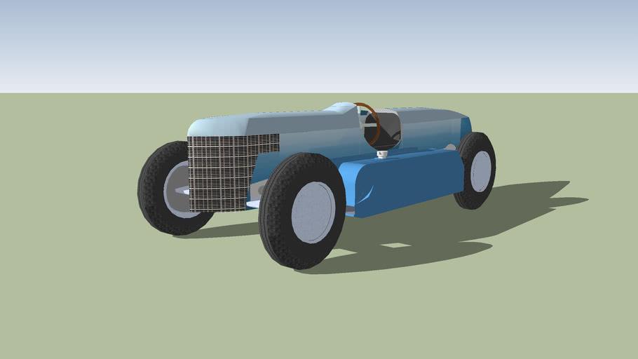 1936 Indianapolis Retamodern Car