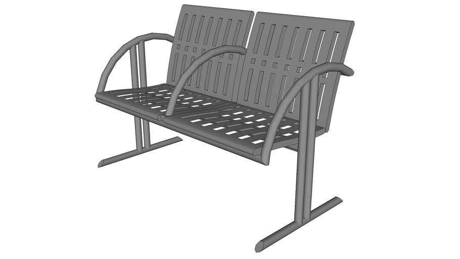 Chase Park 2 Seat Bench
