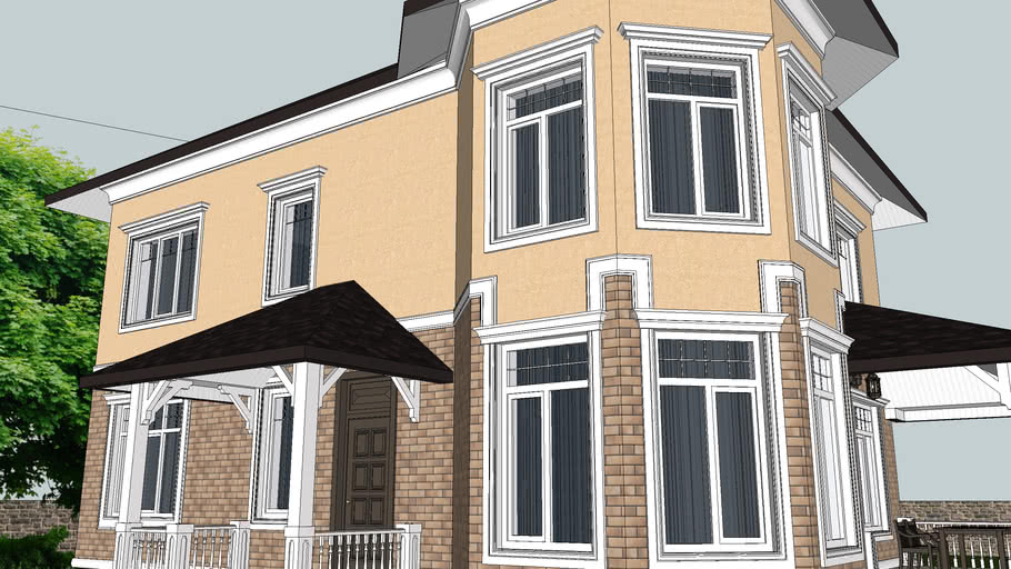 Window Moldings: SketchUp Library of Architectural Decoration