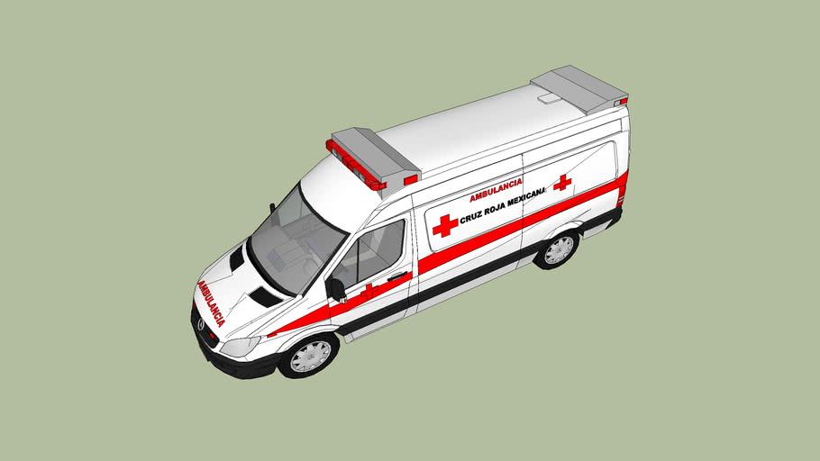 ambulancia de la cruz roja mexicana delegacion de guadalajara jalisco