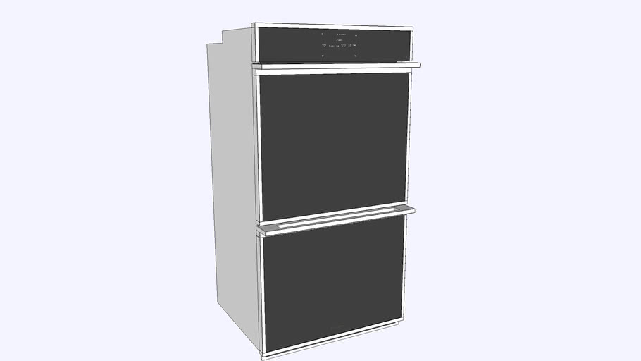 """27"""" Smart Electric Convection Double Wall Oven Minimalist Collection"""