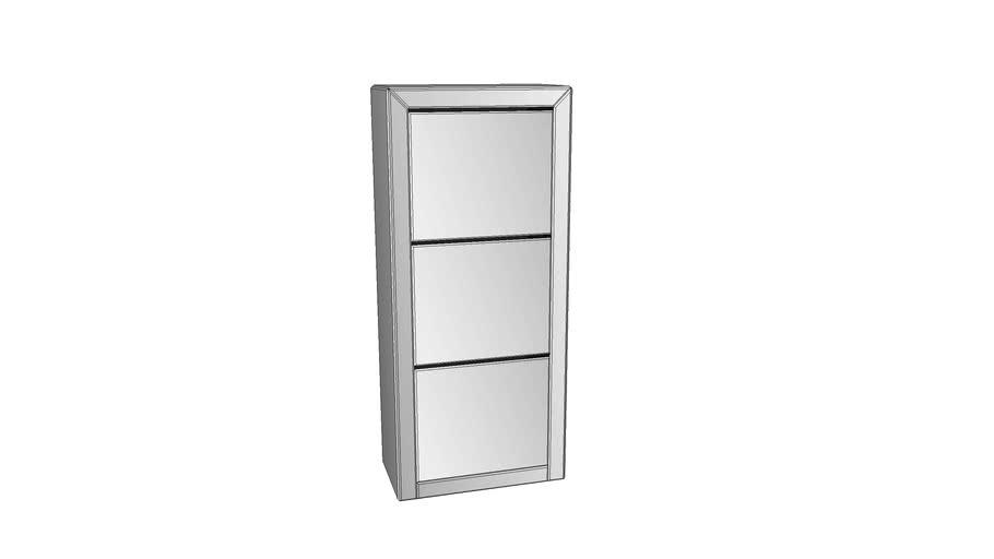 85404 Shoe Container Luxury 3 Grey