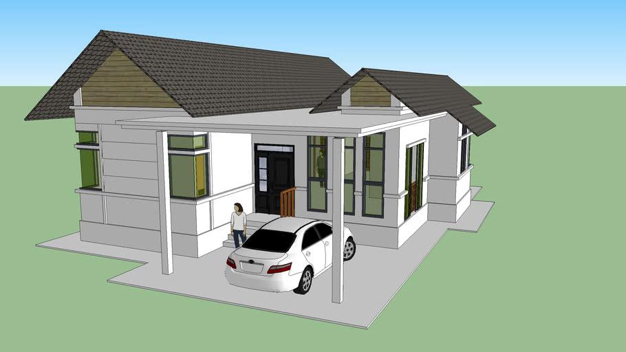 Single Storey House 3d Warehouse