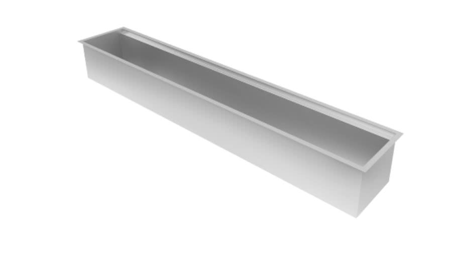 Canal Organizador Úmido Debacco - 1050mm