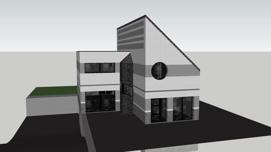 Maison Moderne 3d Warehouse