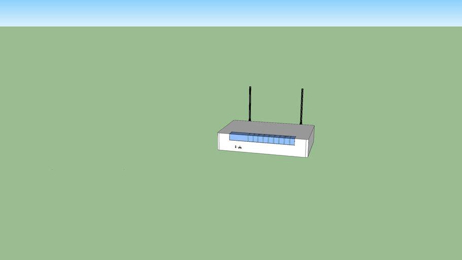 Router Telefonica modelo Comtrend CT5813n