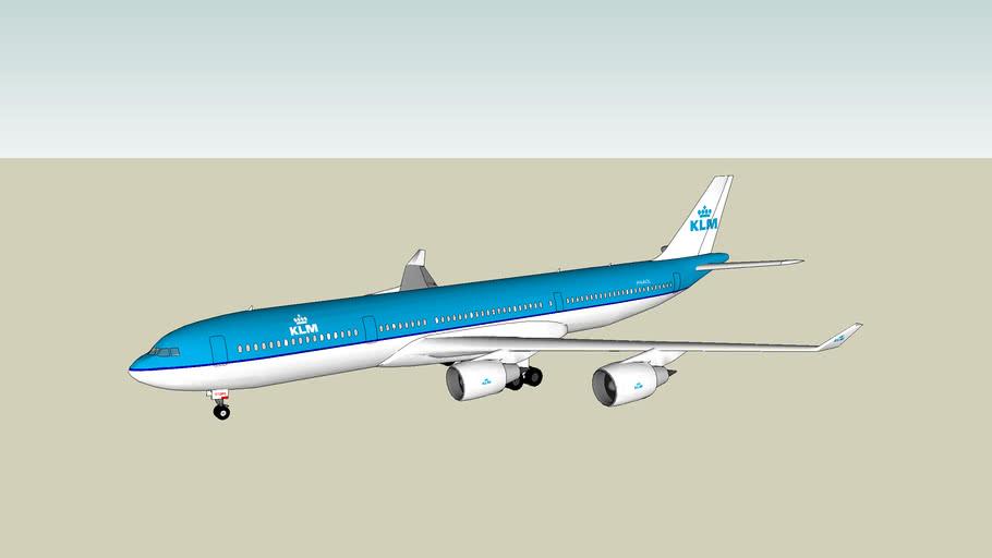 KLM Airbus340-200 (29/01/2011)