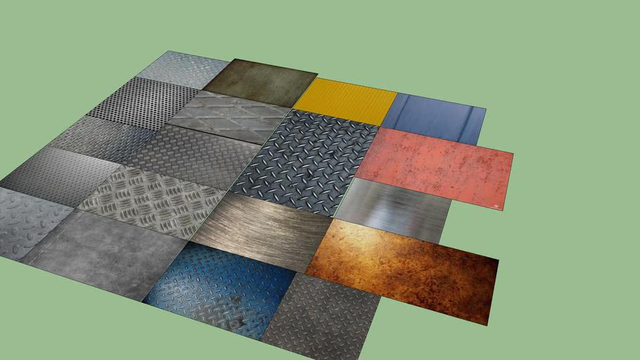 Metal textures pack