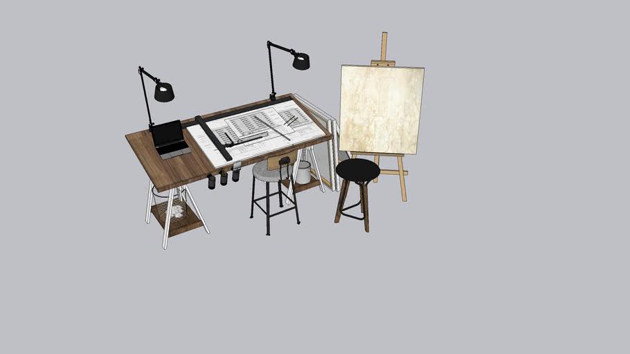 Artist station