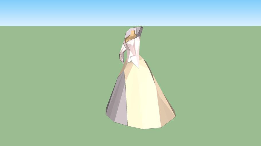 robe avec colerette