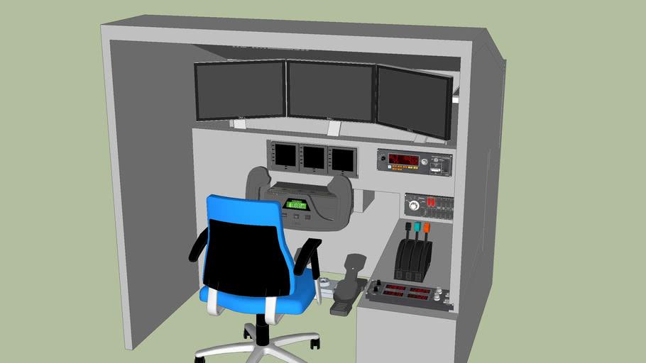 Home cockpit model
