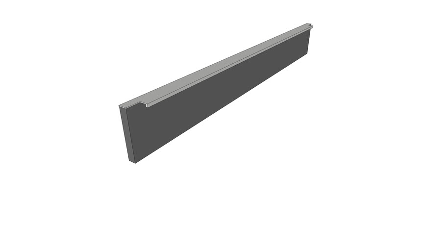 GL01 Poggenpohl handle width 100cm
