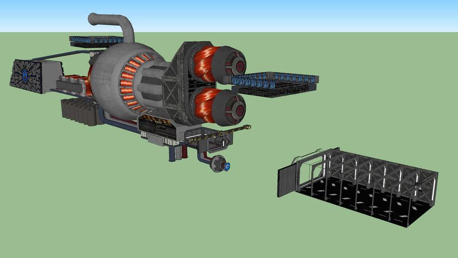 Venator Star Destroyer Mechanical Interior