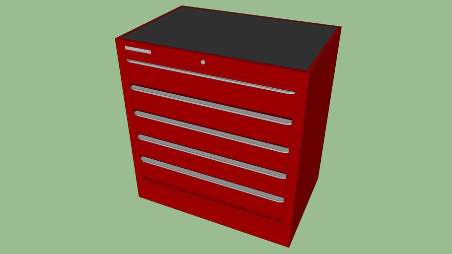 BF-093 - Tool Storage Cabinet w/ 5 Drawers