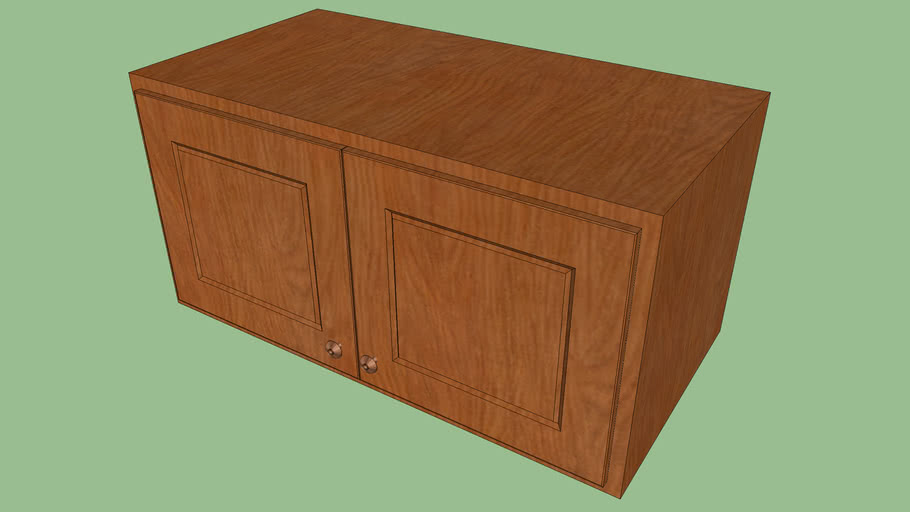 Very Small Kitchen Cabinet Wooden 3d Warehouse